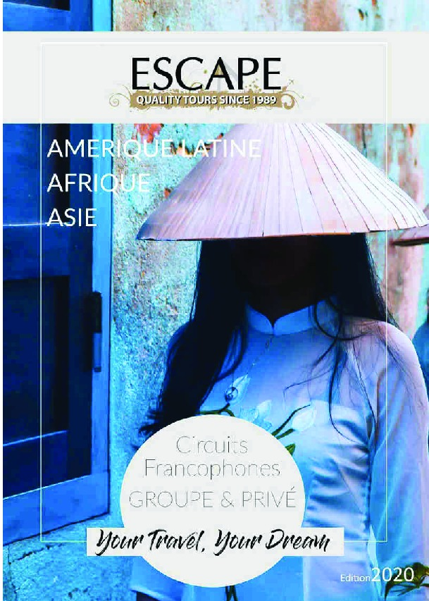Brochure Monde 2020