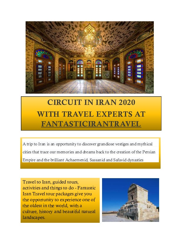 JOURNEY TO IRAN TO DISCOVER THE RICHNESS
